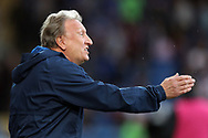 Cardiff City manager Neil Warnock before the Sky Bet Championship match at the Cardiff City Stadium.