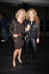 Left to right, NATASHA CORRETT and her mother interior designer KELLY HOPPEN at a reception to celebrate the opening of the Dali & Film exhibition at the Tate Modern, London on 30th May 2007.<br />