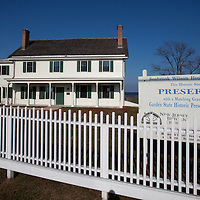 Listed on the National Register of Historic Places, the Seabrook Wilson House (formally known as The Spyhouse) is one of the oldest surviving houses in Monmouth County's bayshore region, with ties to the area's early British settlement and colonial maritime history. The existing house was constructed in several phases over the course of two hundred years. The oldest section dates from the early 1700s, with multiple additions built by the Seabrook and Wilson families in the 1700s and 1800s. With its waterfront setting and commanding views of Sandy Hook Bay and New York City, the house is a valued landmark to the surrounding community.  Many say the house is haunted.