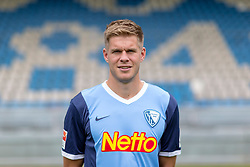 07.07.2015, Rewirpower Stadion, Bochum, GER, 2. FBL, VfL Bochum, Fototermin, im Bild Simon Terodde (Bochum) // during the official Team and Portrait Photoshoot of German 2nd Bundesliga Club VfL Bochum at the Rewirpower Stadion in Bochum, Germany on 2015/07/07. EXPA Pictures &copy; 2015, PhotoCredit: EXPA/ Eibner-Pressefoto/ Hommes<br /> <br /> *****ATTENTION - OUT of GER*****