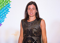 September 22, 2018 - Anastasija Sevastova of Latvia on the red carpet at the 2018 Dongfeng Motor Wuhan Open WTA Premier 5 tennis tournament players party (Credit Image: © AFP7 via ZUMA Wire)