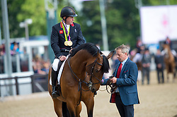 Retirement, Skelton Nick, GBR,  Big Star<br /> Royal Windsor Horse Show - Home Park, Windsor 2017<br /> © Hippo Foto - Jon Stroud<br /> 14/05/17