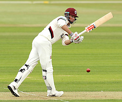 Somerset's Marcus Trescothick flicks a shot into the leg side - Photo mandatory by-line: Robbie Stephenson/JMP - Mobile: 07966 386802 - 21/06/2015 - SPORT - Cricket - Southampton - The Ageas Bowl - Hampshire v Somerset - County Championship Division One