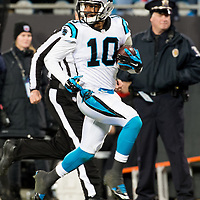 Carolina Panthers wide receiver Corey Brown (10)