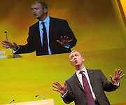 Liberal Democrats<br /> Autumn Conference 2011 <br /> at the ICC, Birmingham, Great Britain <br /> <br /> 17th to 21st September 2011 <br /> <br /> Tim Farron MP<br /> President of the Liberal Democrats<br /> <br /> Photograph by Elliott Franks