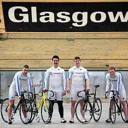 Scotland's sprint track cyclists | Sir Chris Hoy velodrome | 30 May 2013