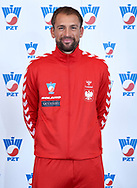 Warsaw, Poland - 2017 December 11: Tennis' player Lukasz Kubot from Poland poses to the picture while Photo Session of Davis Cup Team of Polish Tennis Association at Regent Hotel on December 11, 2017 in Warsaw, Poland.<br /> <br /> Mandatory credit:<br /> Photo by © Adam Nurkiewicz / Mediasport<br /> <br /> Adam Nurkiewicz declares that he has no rights to the image of people at the photographs of his authorship.<br /> <br /> Picture also available in RAW (NEF) or TIFF format on special request.<br /> <br /> Any editorial, commercial or promotional use requires written permission from the author of image.