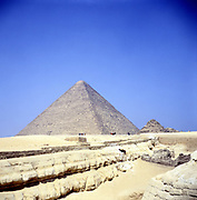 Pyramid at Giza. Pyramids one of  the Seven Wonders of the World