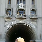 South America, Uruguay, Canelones, Montevideo, national armory