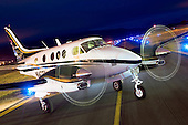 CCAS07 Beechcraft King Air C90 'Jaguar' Edition N147TA