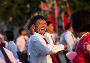 I Have Seen North Korean People Smiling!<br /> <br /> &quot;Some say about North Korea that the only ones who smile are the &quot;Dear Leaders&quot; on the propaganda stuff&quot;, says Photographer Eric Lafforgue<br /> <br /> But after 6 trips in the most closed country, I can say that North Koreans are not the robots many depict... They also smile!<br /> <br /> Even if they suffer from the lack of freedom and a dictatorship, they can have happy moments in their life... This was not easy to take those pics as the guides that always follow you are always suspicious, even when they see happy people!<br /> &copy;Eric Lafforgue/Exclusivepix Media