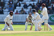 Wicket - Lewis Gregory of Somerset takes the catch to dismiss Josh Bohannon of Lancashire off the bowling of Jack Leach of Somerset during the Specsavers County Champ Div 1 match between Somerset County Cricket Club and Lancashire County Cricket Club at the Cooper Associates County Ground, Taunton, United Kingdom on 5 September 2018.