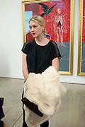 DANI SMITH, Nothing Matters. Damien Hirst exhibition. White Cube. Mason's Yard. London. 24 November 2009
