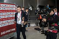 FOOTBALL: Pierre Emile Højbjerg (Denmark) arrives at the stadium before the EURO 2020 Qualifier match between Denmark and Georgia at Parken Stadium on June 10, 2019 in Copenhagen, Denmark. Photo by: Claus Birch / ClausBirchDK.