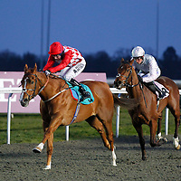Twenty One Choice and Tom Queally winning the 7.30 race