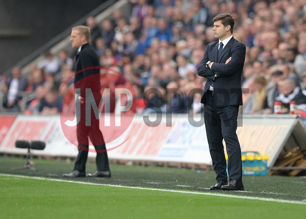 Tottenham Hotspur Manager Mauricio Pochettino - Mandatory byline: Alex James/JMP - 07966 386802 - 04/10/2015 - FOOTBALL - Liberty stadium - Swansea, England - Swansea City  v Tottenham hotspur - Barclays Premier League