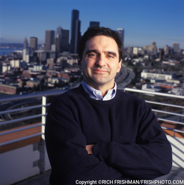 Photograph of Joseph Galli, Jr in Seattle, Washington. At the time Joe Galli was the chief operating officer (COO) of Amazon..©RICH FRISHMAN.ALL RIGHTS RESERVED..150 BRACKENWOOD AVE.LANGLEY WA 98260..360-221-1984 VOICE.360-221-4054 FAX