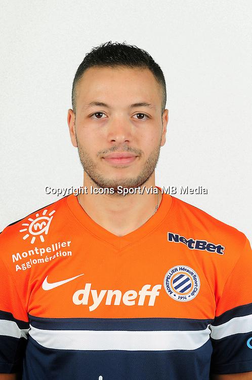 Jamel SAIHI - 02.09.2013 - Presentation des joueurs de Montpellier - <br /> Photo : / Icon Sport