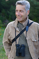 Vlado Peikov, hunting area manager, wildlife watching ecotourism, Deven area, Western Rhodope mountains, Bulgaria