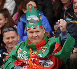 John Durcan pictured at Mayo v Kerry national football league encounter in McHale park on sunday. Pic Conor McKeown