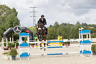 Horse jumping event, Czech equestrian masters 2017.<br /> Photo for personal and editorial use only.