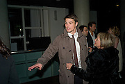 Josh Hartnett; Lady Weinberg, After party for the new production of ' The Rain Man' The Trafalgar Hotel London. 10 September 2008 *** Local Caption *** -DO NOT ARCHIVE-© Copyright Photograph by Dafydd Jones. 248 Clapham Rd. London SW9 0PZ. Tel 0207 820 0771. www.dafjones.com.