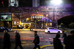 © Licensed to London News Pictures . 13/12/2019 . Manchester , UK . GV of Gorilla nightclub on Whitworth Street West in Manchester City Centre . Sinaga was living in Montana House and committed many of his offences after finding victims at nearby clubs . Reynhard Sinaga has been convicted of over a hundred serious sexual assaults , including the rape of dozens of young men whom he lured to his flat from outside nightclubs in Manchester City Centre , making him one of the most prolific sex offenders ever to have been tried and convicted . Photo credit : Joel Goodman/LNP