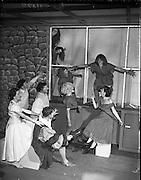 Gael Linn Play at Damer Hall.08/06/1959