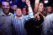 Clubbers dancing at Sugar shack Middlesborough April 2002