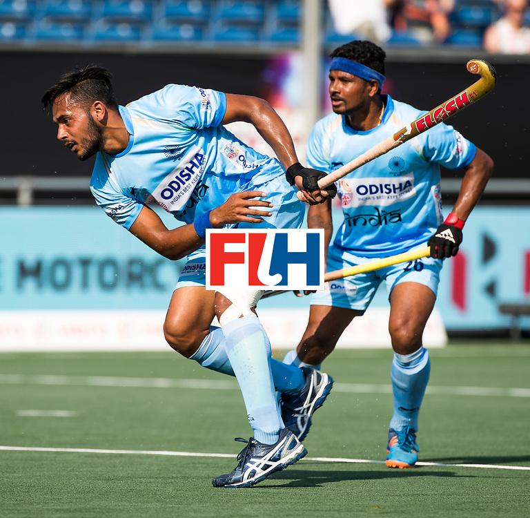 BREDA - Harmanpreet Singh (Ind.)        India-Belgie (1-1) .  Rabobank Champions  Trophy `2018 .  COPYRIGHT  KOEN SUYK