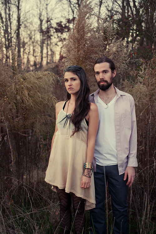 Bowerbirds: Beth Tacular and Phil Moore, North Carolina, November 2011. ..Photo by D.L. Anderson