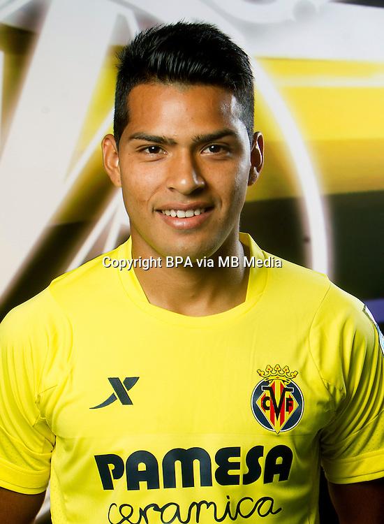 Spain - La Liga BBVA  2014-2015 / <br /> ( Villarreal C.F. ) - <br /> Mat&iacute;as Nahuel Leiva