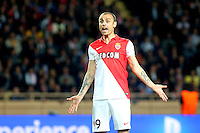 Deception Dimitar BERBATOV - 22.04.2015 - Monaco / Juventus Turin - 1/4Finale retour Champions League<br /> Photo : Serge Haouzi / Icon Sport