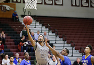 January 7, 2017: The St. Mary's University Rattlers play against the Oklahoma Christian University Eagles in the Eagles Nest on the campus of Oklahoma Christian University.