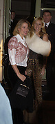Lesley King-Lewis and Tania Bryer, Party to celebrate the publication of Kelly Hoppen's Style Book.  50 Cheyne Walk. London. 10 November 2004. ONE TIME USE ONLY - DO NOT ARCHIVE  © Copyright Photograph by Dafydd Jones 66 Stockwell Park Rd. London SW9 0DA Tel 020 7733 0108 www.dafjones.com