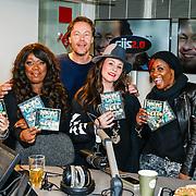 NLD/Hilversum/20160411 - CD en Gouden Plaat uitreiking aan de Ladies of Soul, Candy Dulfer, Berget Lewis, Trijntje Oosterhuis, Edsilia Rombley en Glennis Grace