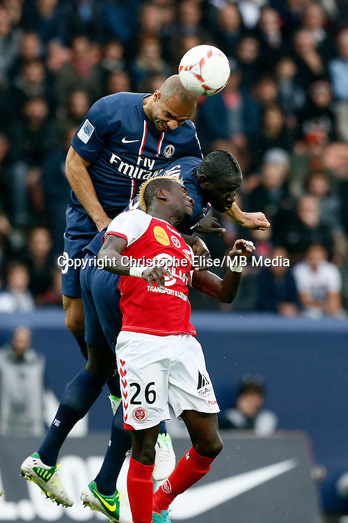 FOOTBALL - FRENCH CHAMPIONSHIP 2012/2013 - L1 - PARIS SAINT GERMAIN VS REIMS - 20/10/2012 - ALEX (PARIS SAINT-GERMAIN)