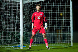 HIGH WYCOMBE, ENGLAND - Monday, March 6, 2017: Reading's goalkeeper George Legg in action against Liverpool during FA Premier League 2 Division 1 Under-23 match at Adams Park Stadium. (Pic by David Rawcliffe/Propaganda)