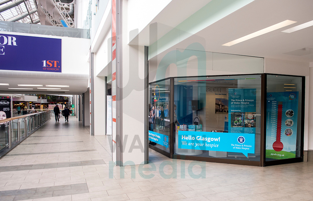 FREE FIRST USE<br /> <br /> The Prince &amp; Princess of Wales Hospice open up their pop-up shop in St. Enoch Centre with the help of Gary Lamont.<br /> <br /> Lenny Warren / Warren Media<br /> 07860 830050  01355 229700<br /> lenny@warrenmedia.co.uk<br /> www.warrenmedia.co.uk<br /> <br /> All images &copy; Warren Media 2017. Free first use only for editorial in connection with the commissioning client's  press-released story. All other rights are reserved. Use in any other context is expressly prohibited without prior permission.