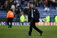 Photo: Pete Lorence.<br />Leicester City v West Bromwich Albion. Coca Cola Championship. 24/02/2007.<br />West Brom manager, Tony Mowbray, stormed on to the pitch to confront referee Uriah Rennie after the match.