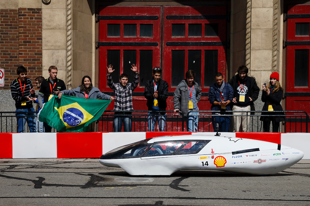 Shell Eco-marathon Americas 2015 in Detroit, Mich., Saturday, April 11, 2015. (Rick Osentoski/AP Images for Shell)