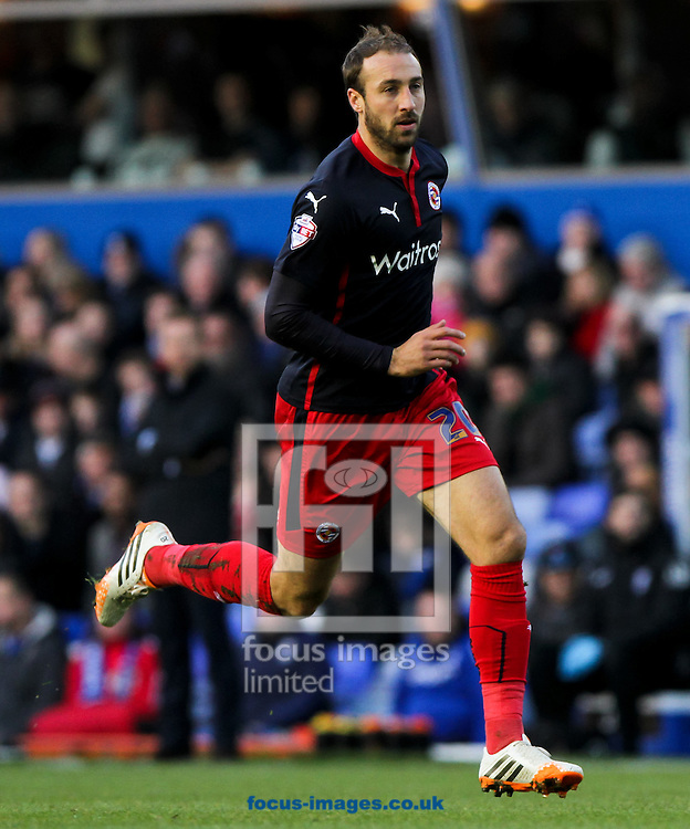 Glenn Murray of Reading during the Sky Bet Championship match at St Andrews, Birmingham<br /> Picture by Tom Smith/Focus Images Ltd 07545141164<br /> 13/12/2014