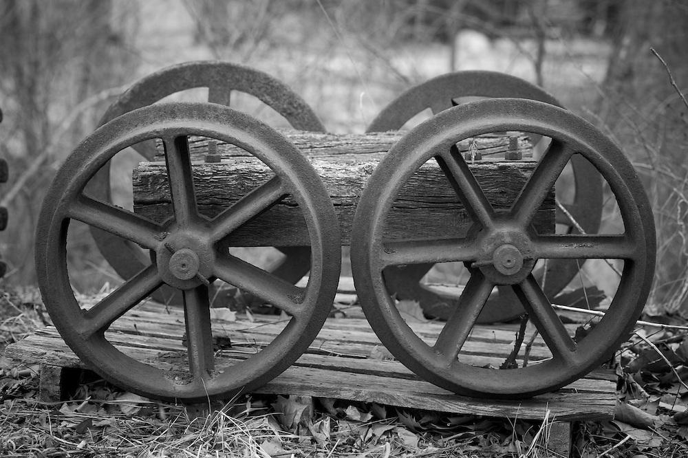 Coal mine car wheels