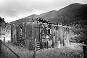 Old Barn, near Anderson Lake, north of Pemberton, British Columbia, Canada.