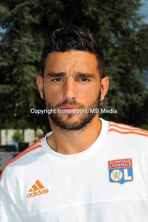 Jordan Ferri - 15.07.2015 - Lyon / PSV Eindhoven - Valais Cup<br /> Photo : Jean Paul Thomas / Icon Sport