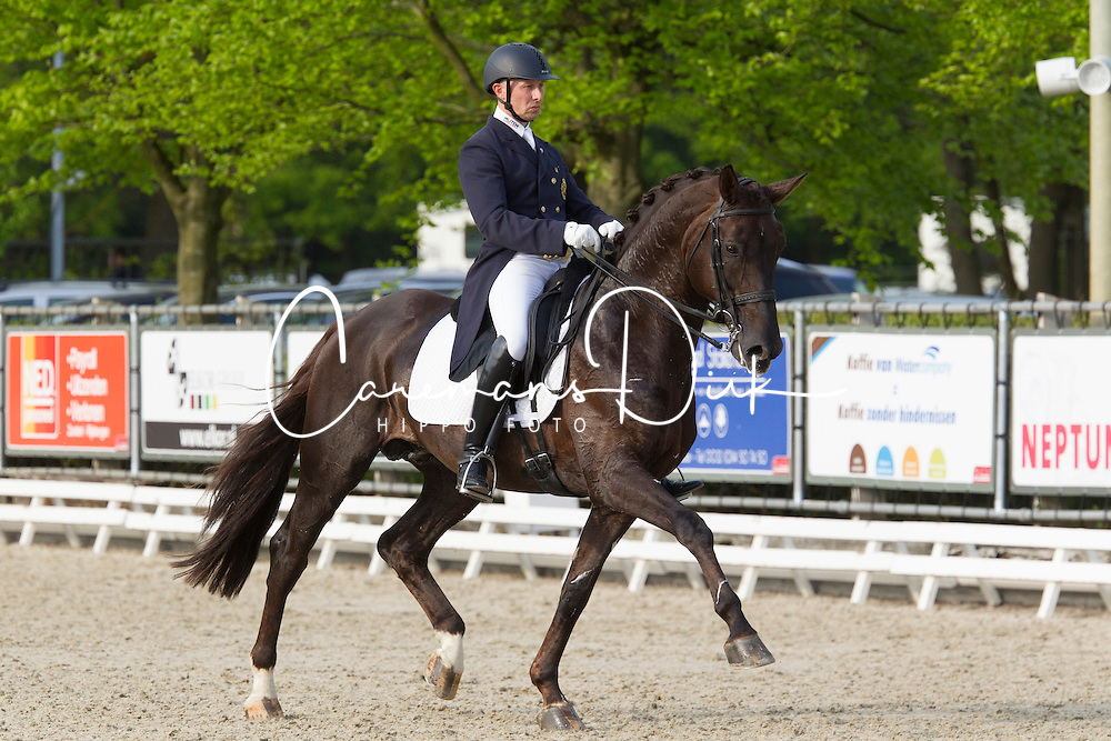 Devroe Jeroen, (BEL), Aaron<br /> CDI3* Roosendaal 2015<br /> © Hippo Foto - Leanjo de Koster<br /> 09/05/15