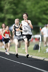 Hamilton, Ontario ---07/06/08--- Sam Jaspers-Fayer of Thousand Islands in Brockville competes in the 3000 meters at the 2008 OFSAA Track and Field meet in Hamilton, Ontario..GEOFF ROBINS