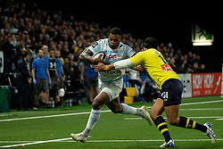 January 8, 2018 - Nanterre, Hauts de Seine, France - Racing Metro 92 Flanker VIRIMI VAKATAWA in action during the French rugby championship Top 14 match between Racing Metro 92 and Clermont at U Arena Stadium in Nanterre - France.Racing won 58-6 (Credit Image: © Pierre Stevenin via ZUMA Wire)