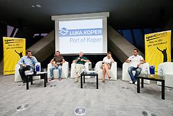 Okrogla miza 1. Slovenskega smucarskega forumu v organizaciji SportForum Slovenija, September 14, 2011, Kristalna Palaca, BTC City, Ljubljana, Slovenija. (Photo by Matic Klansek Velej / Sportida)
