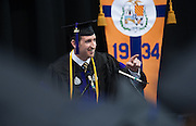 Kevin Downs, the student speaker at the Gonzaga Law School commencement. (Photo by Gonzaga University)